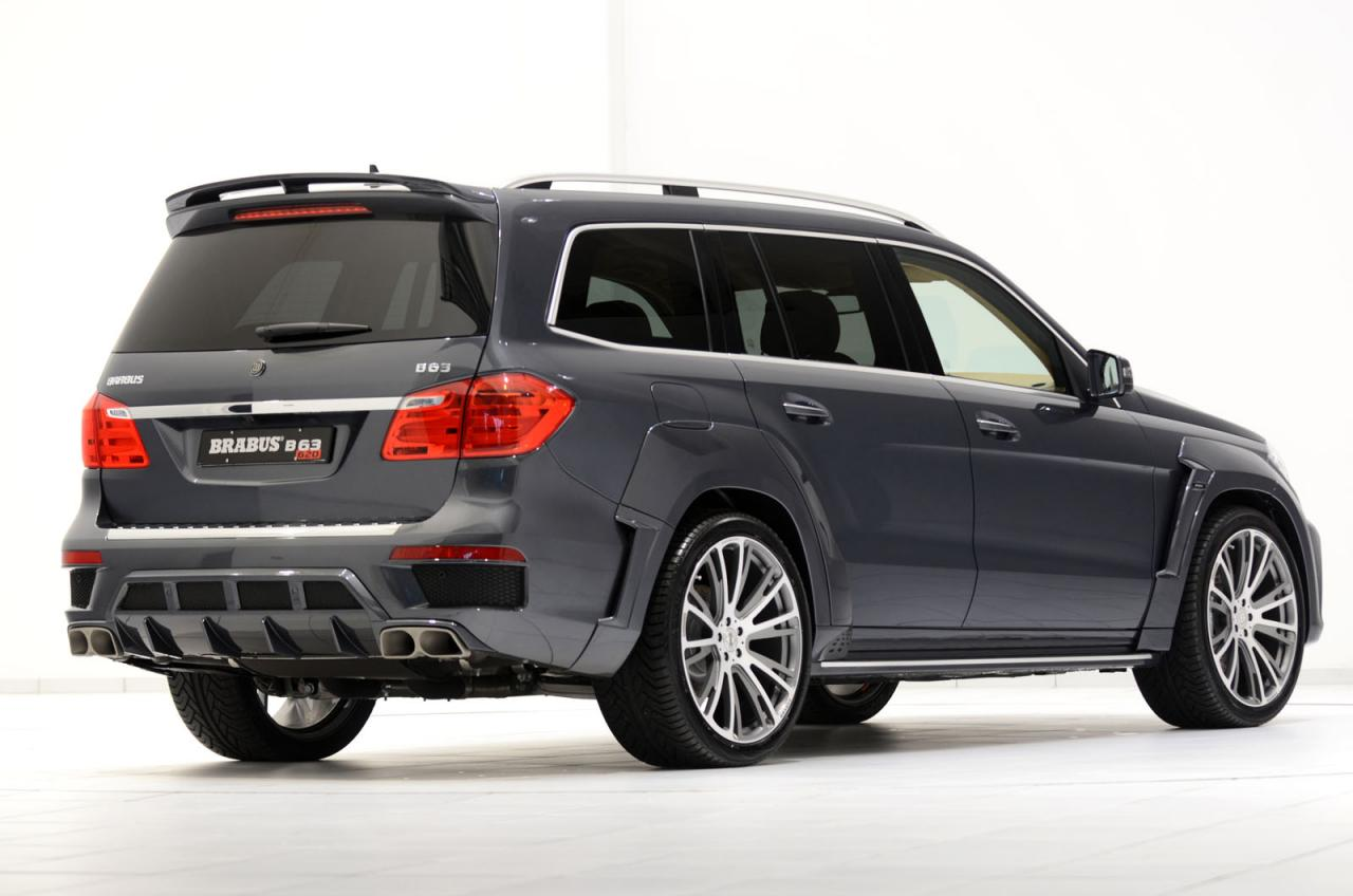 Mercedes GL63 AMG Tuned by Brabus - autoevolution