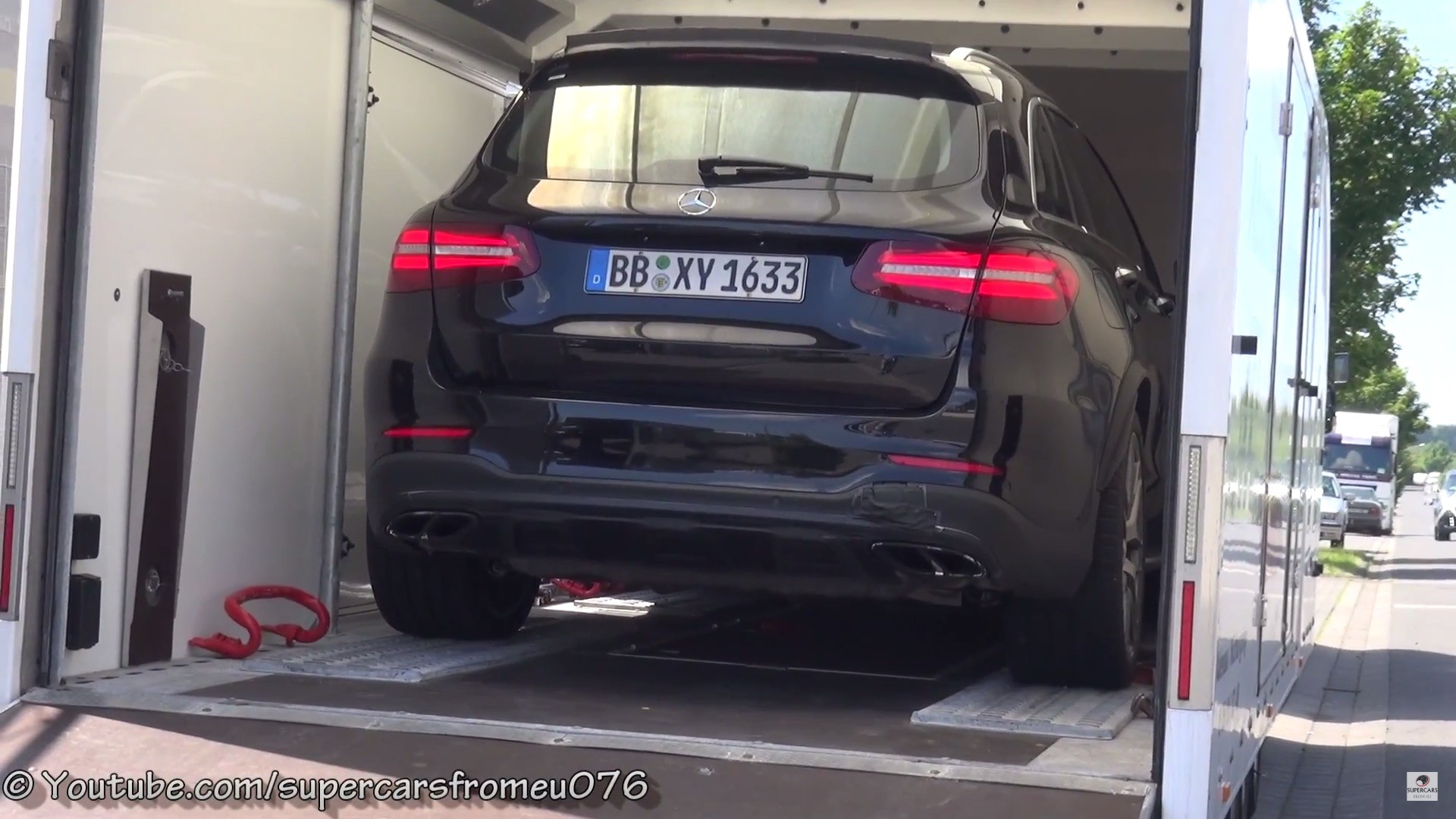 mercedes-amg glc 63 4matic sounds beastly - autoevolution