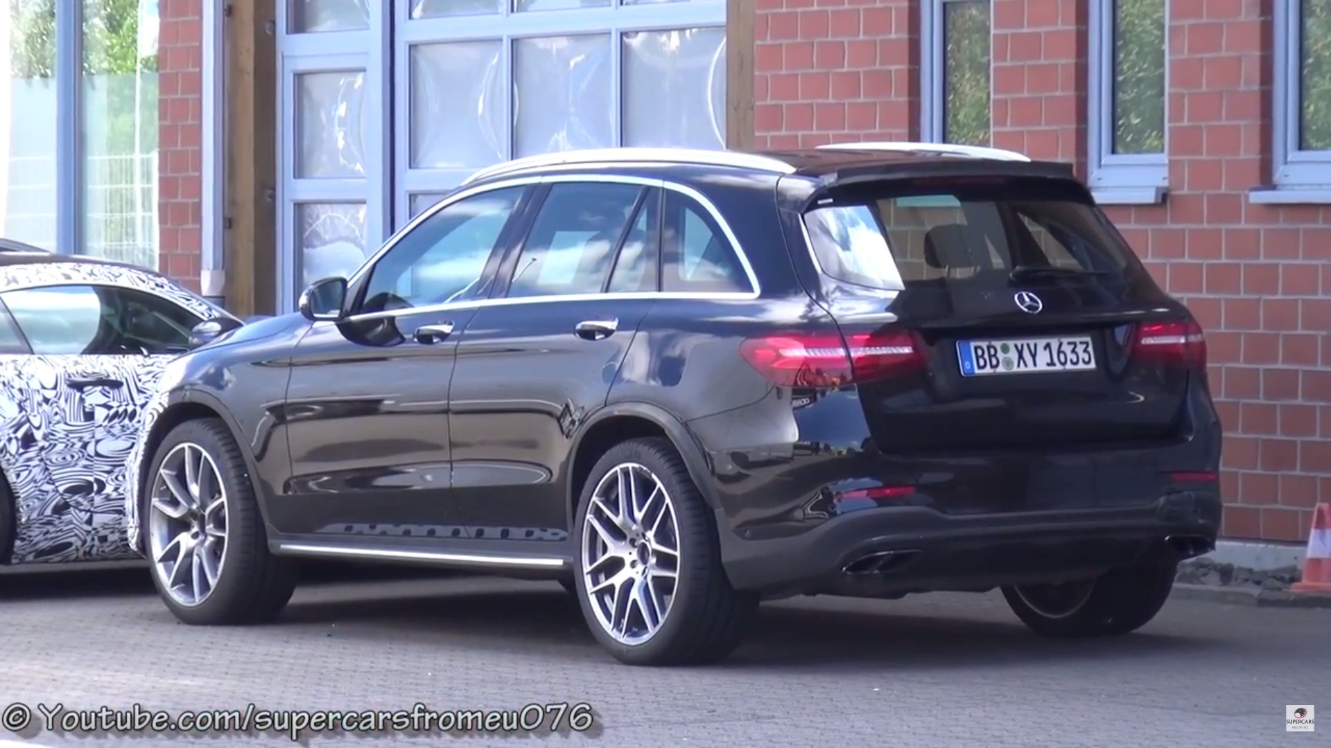 mercedes amg glc 63 4matic sounds beastly autoevolution. Black Bedroom Furniture Sets. Home Design Ideas