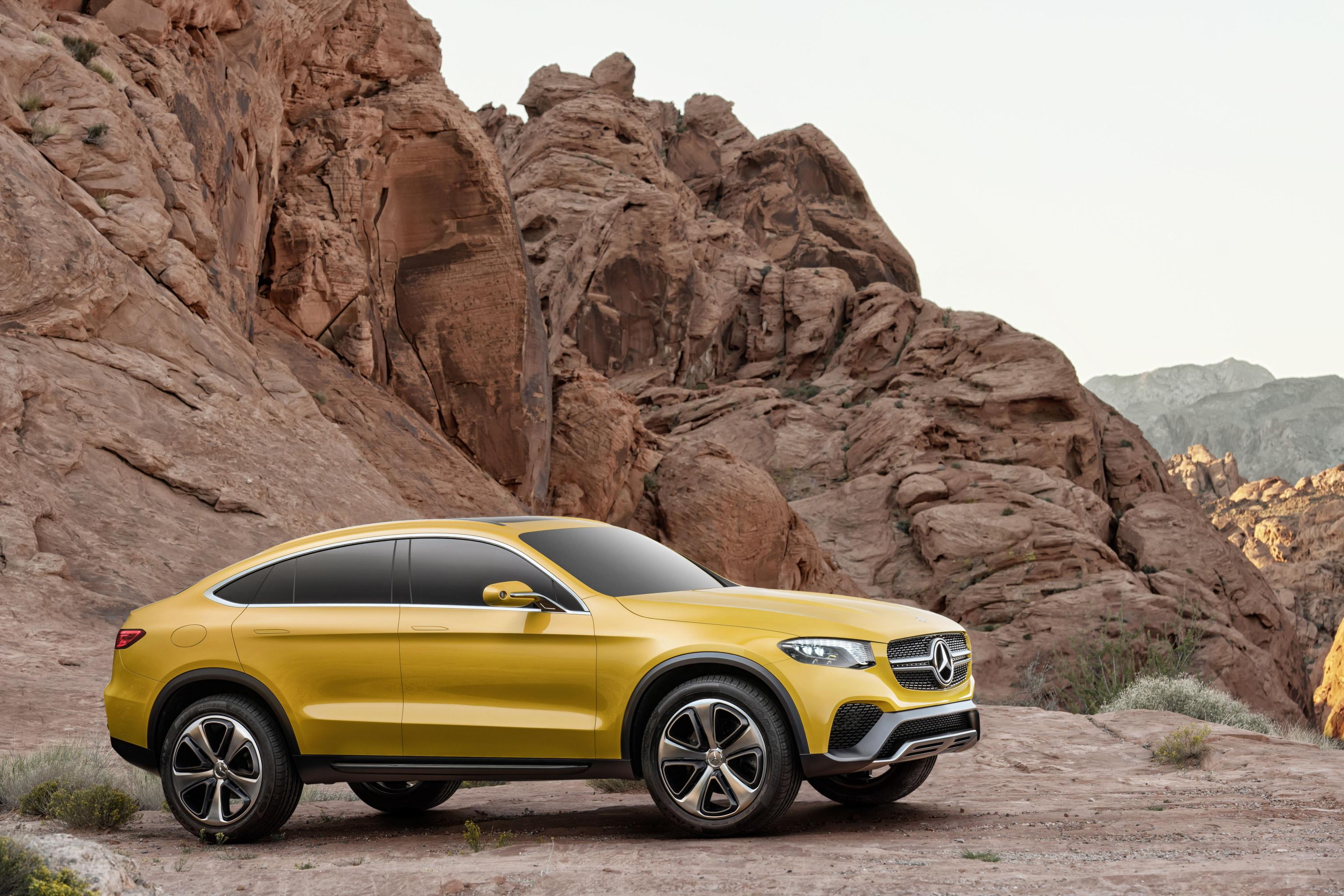 mercedes glc coupe concept officially revealed with amg. Black Bedroom Furniture Sets. Home Design Ideas