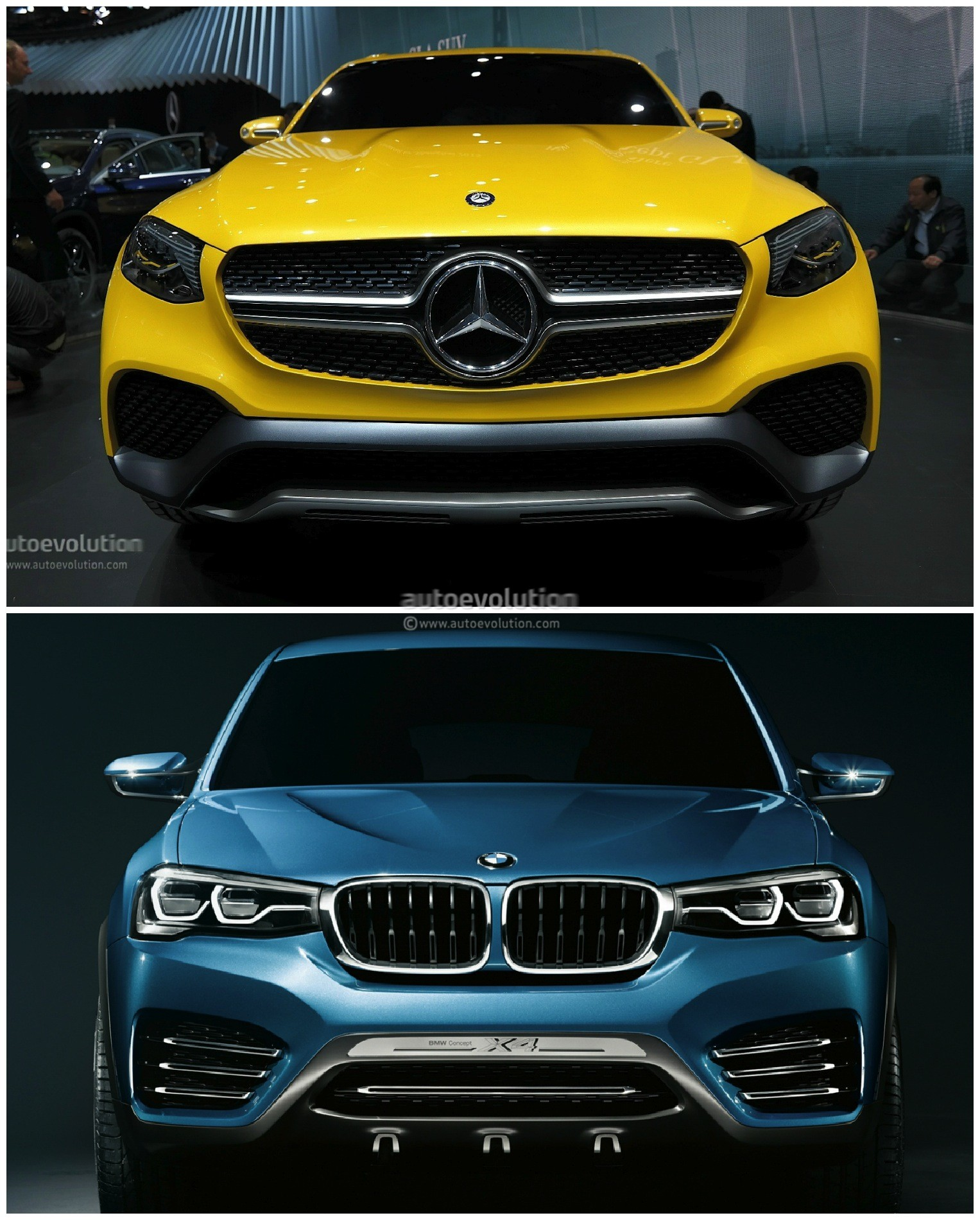 Bmw Sports Coupe: Mercedes GLC Coupe Vs. BMW X4: The Sports Activity Coupe