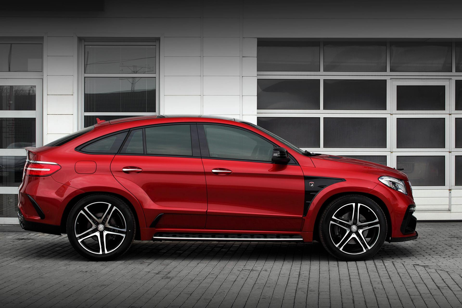 Mercedes Gle 450 Amg Coupe Gets Inferno Tuning From Topcar