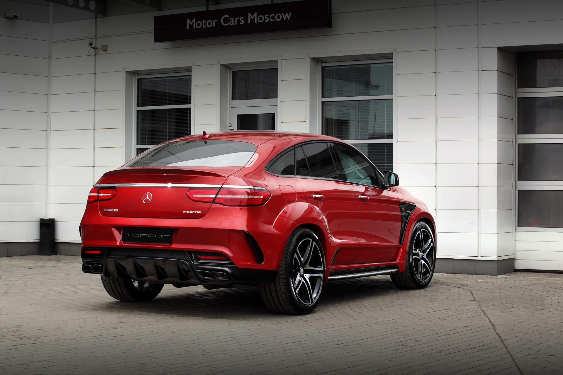 Mercedes Gle Coupe >> Mercedes GLE 450 AMG Coupe Gets Inferno Tuning from Topcar - autoevolution