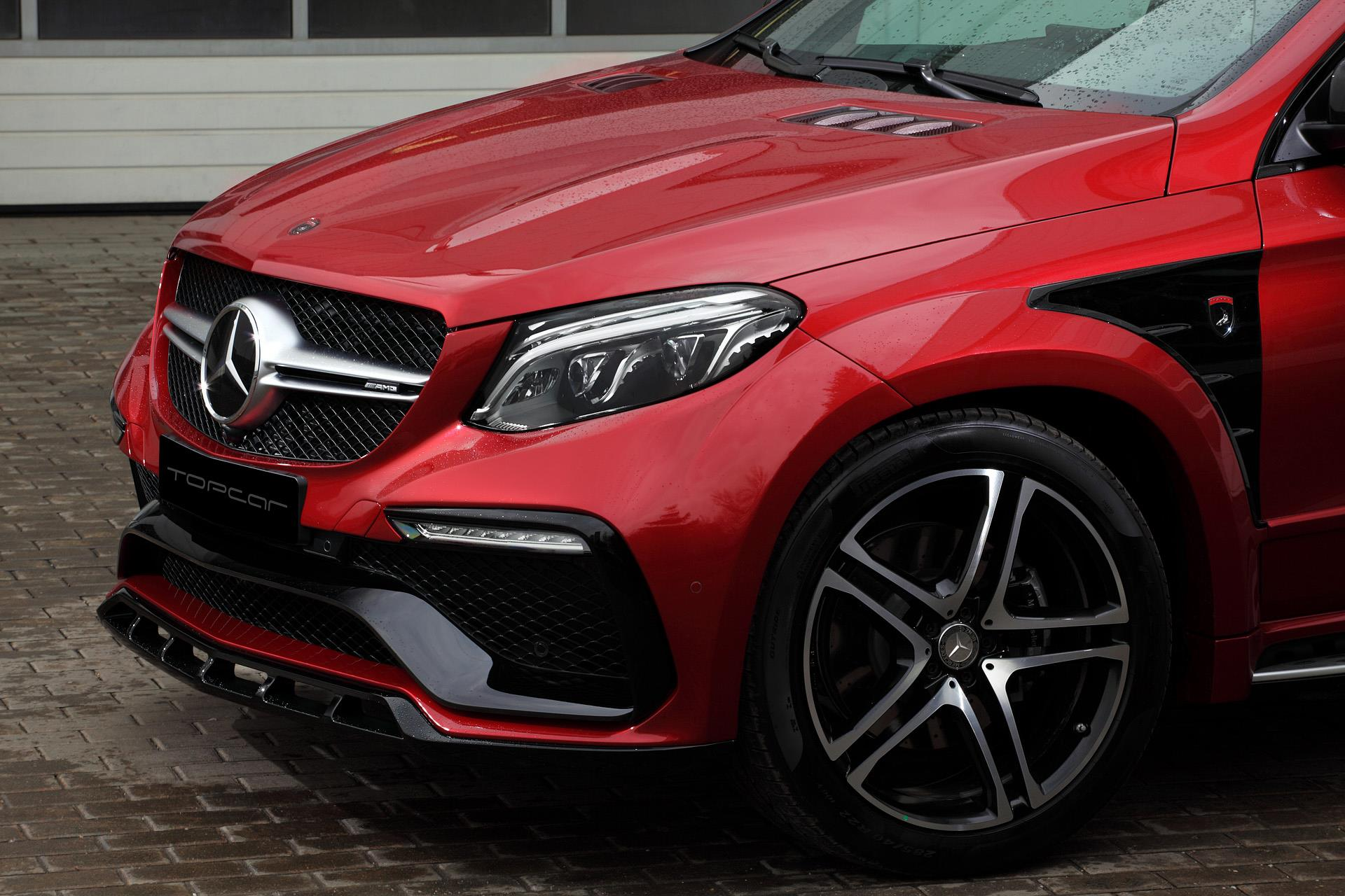 Mercedes Gle 450 Amg Coupe Gets Inferno Tuning From Topcar Autoevolution