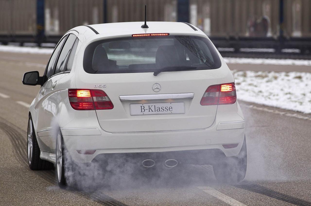 Mercedes Goes Wild, Creates B55, a V8 B-Klasse - autoevolution
