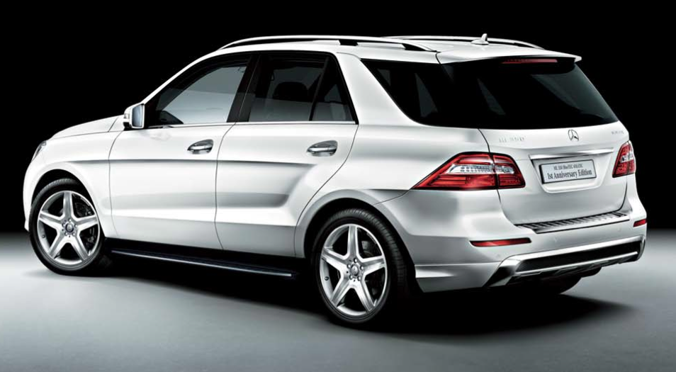 Mercedes Launches ML350 BlueTEC Anniversary Edition In