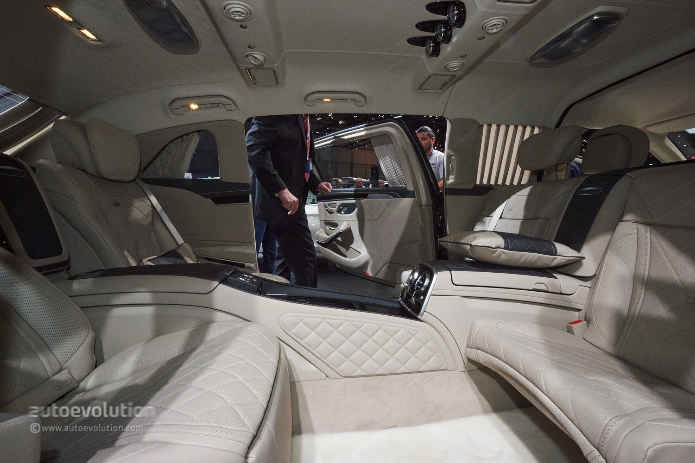 Mercedes Maybach Pullman S600 Bursts Opulence In Geneva Autoevolution