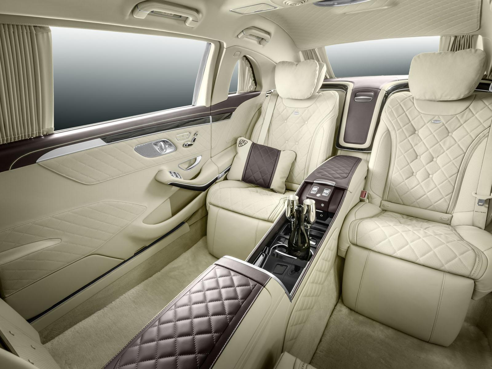 Mercedes-Maybach Pullman Unveiled With Massive Wheelbase ...