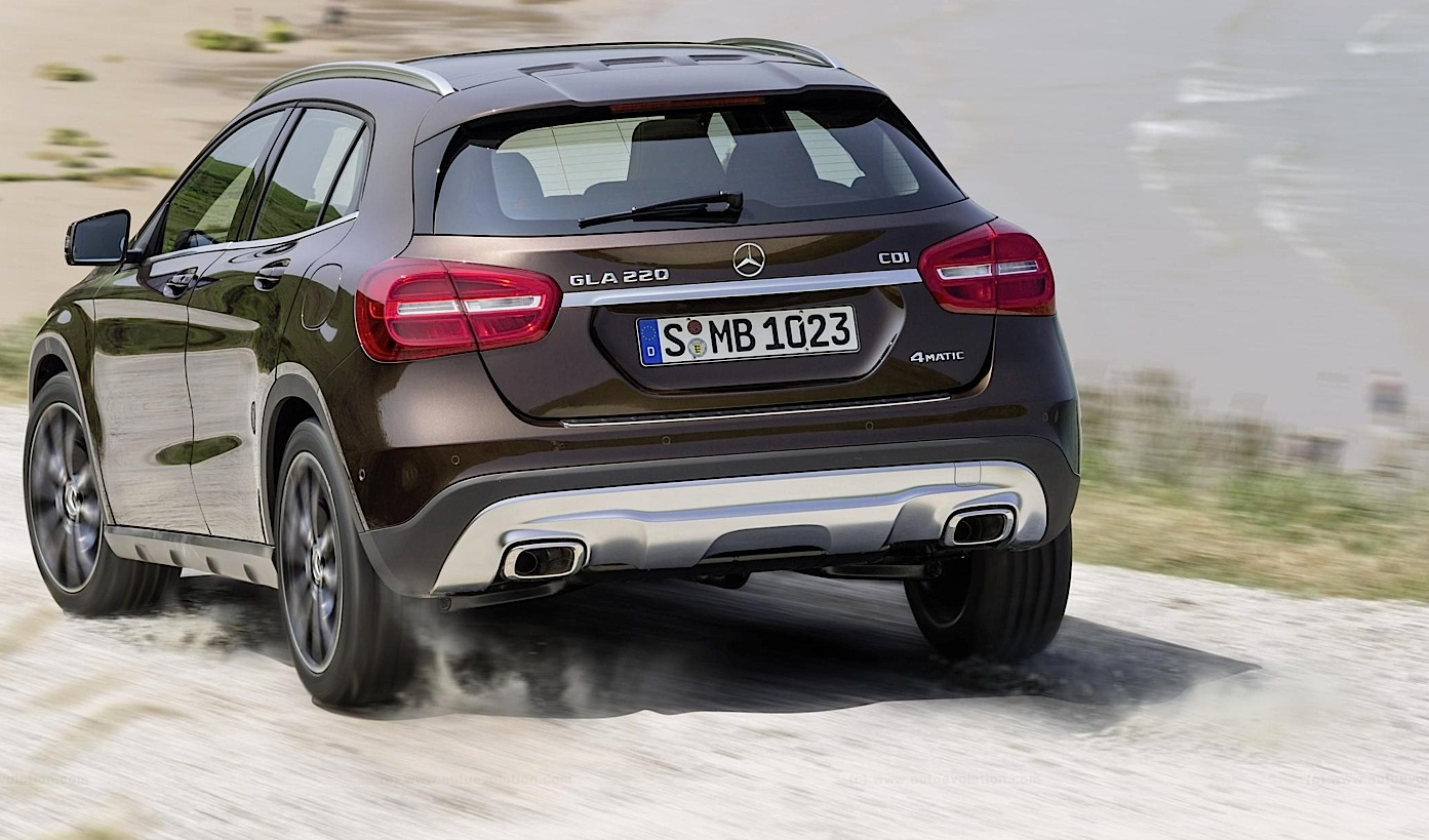 Mercedes Officially Reveals Gla Compact Suv Autoevolution
