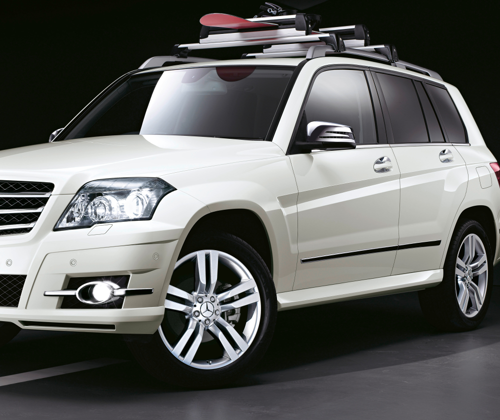 Mercedes presents new glk accessories autoevolution for Mercedes benz acc