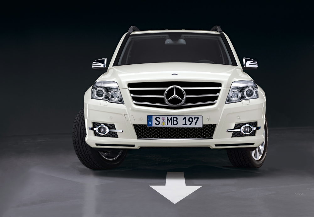 Mercedes presents new glk accessories autoevolution for Mercedes benz glk accessories