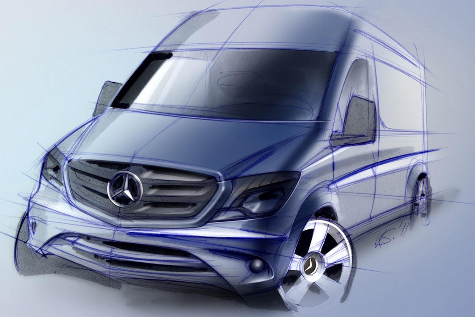 Mercedes Refreshes Sprinter Van To Meet Euro Vi Standards