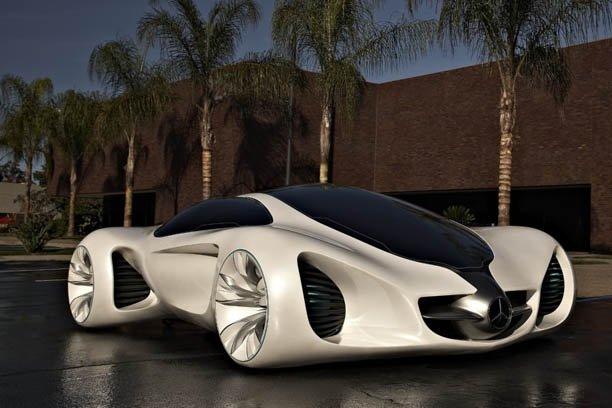 концепт кар мерседес mercedes benz biome concept 2010.