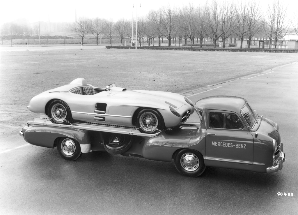 Mercedes Renntransporter  The Fastest Racing Car Hauler in the