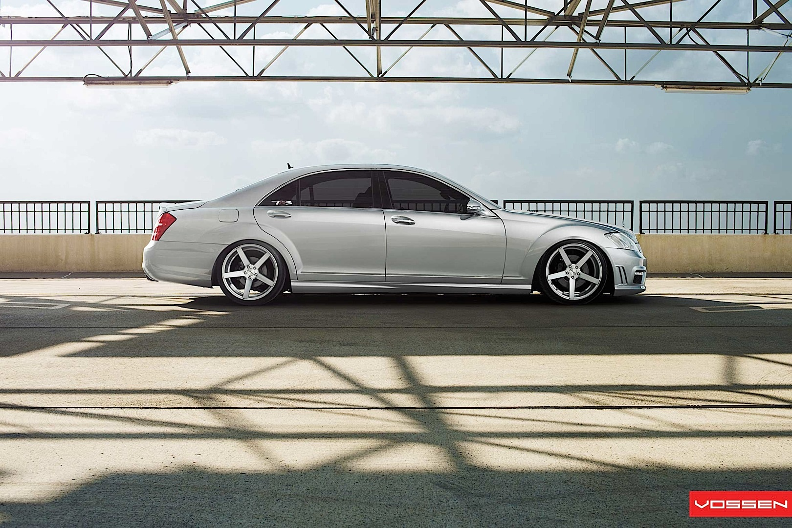 mercedes s class gets vossen wheels autoevolution. Black Bedroom Furniture Sets. Home Design Ideas