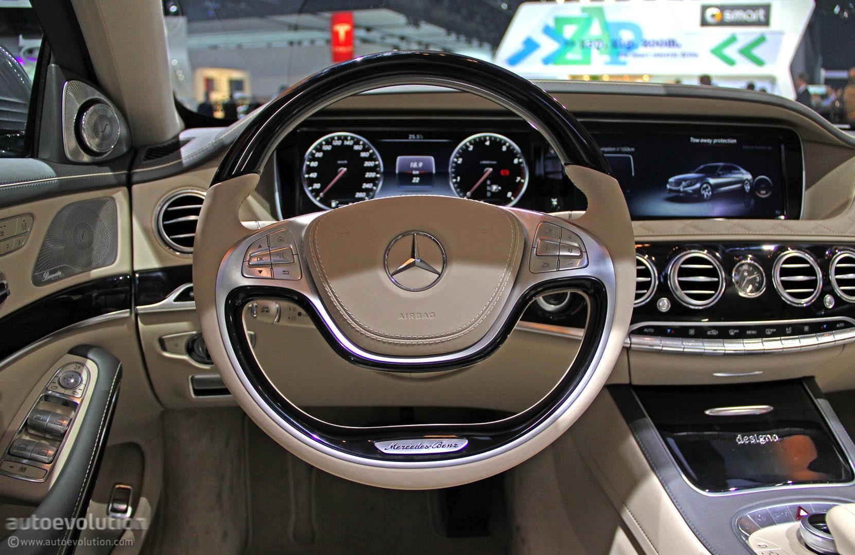 Mercedes S600 Debuts in Detroit With 6-liter V12 [Live ...