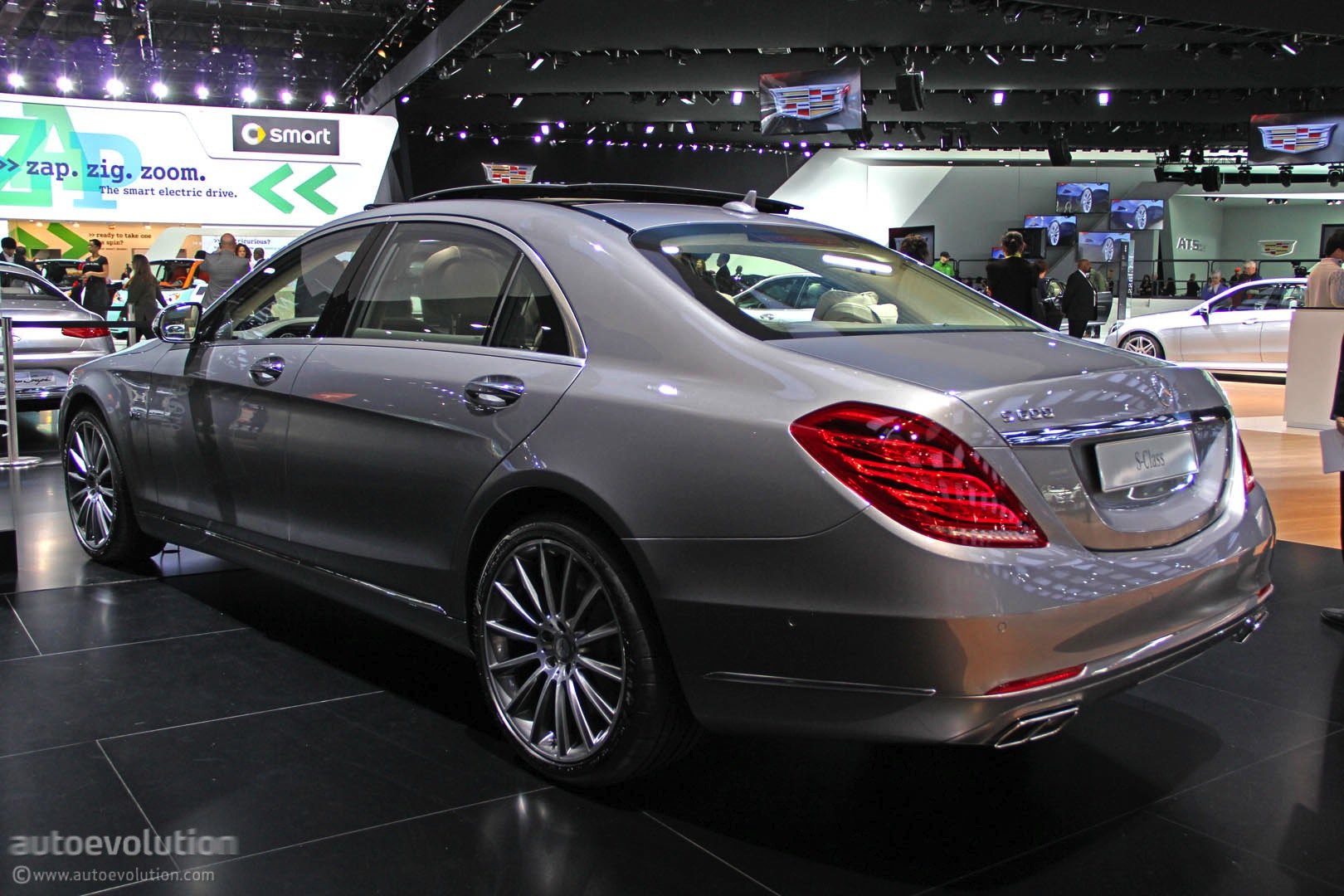 V12-Powered 2015 Mercedes S600 Leaked, Specced and Videoed ...