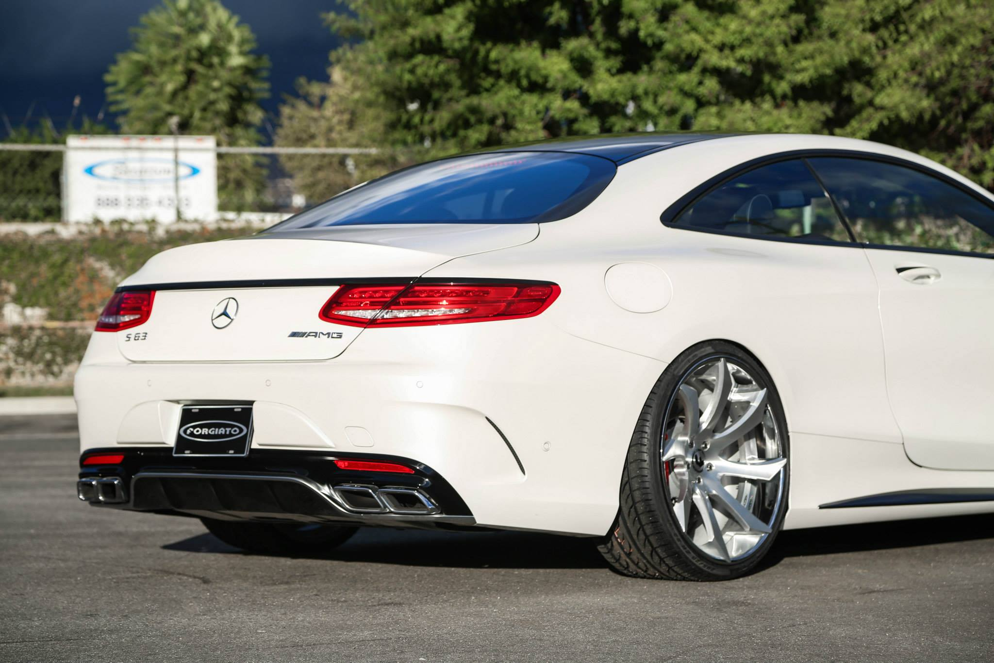 mercedes s63 amg coupe on forgiato fondare wheels. Black Bedroom Furniture Sets. Home Design Ideas