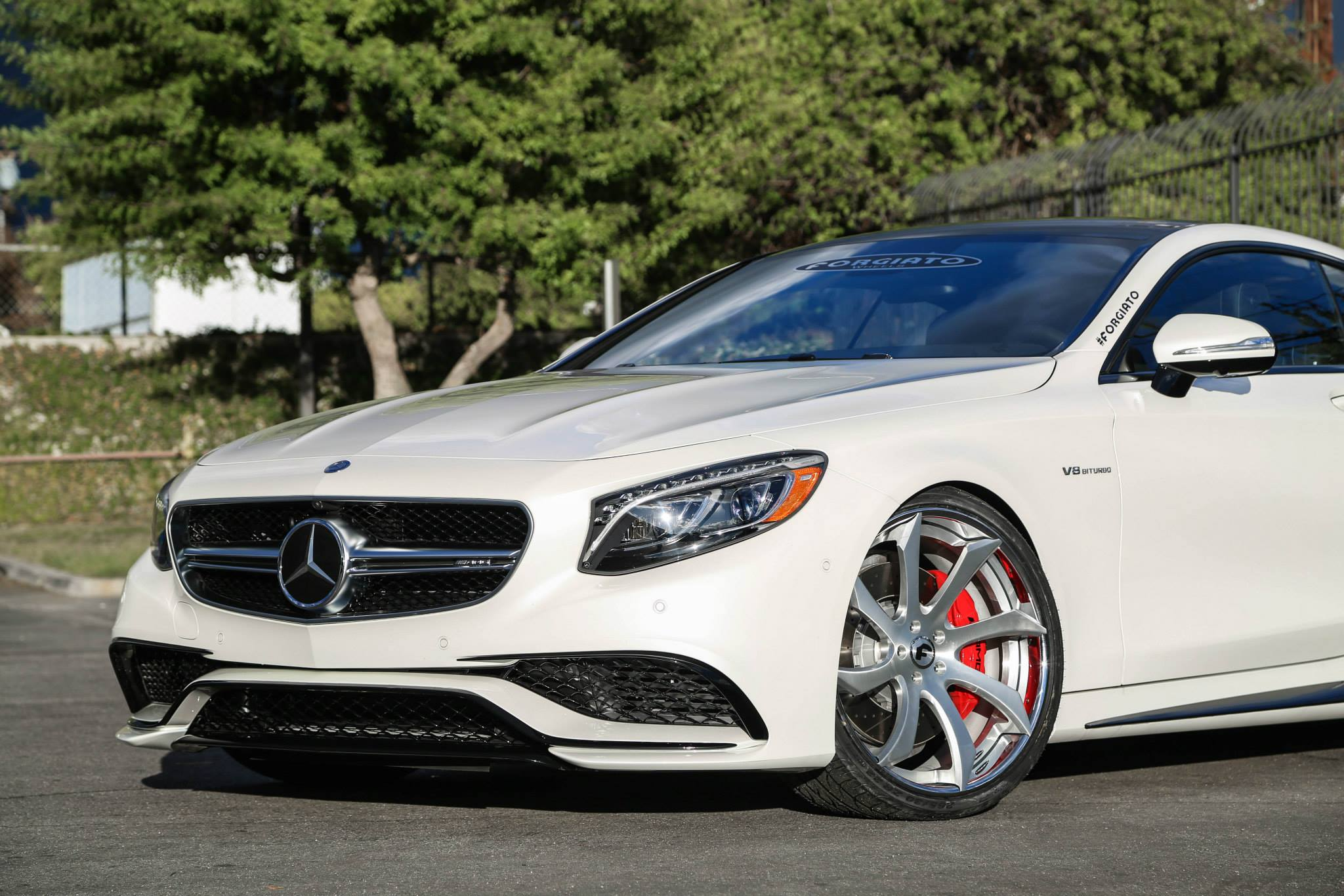 Mercedes S63 Amg Coupe On Forgiato Fondare Wheels