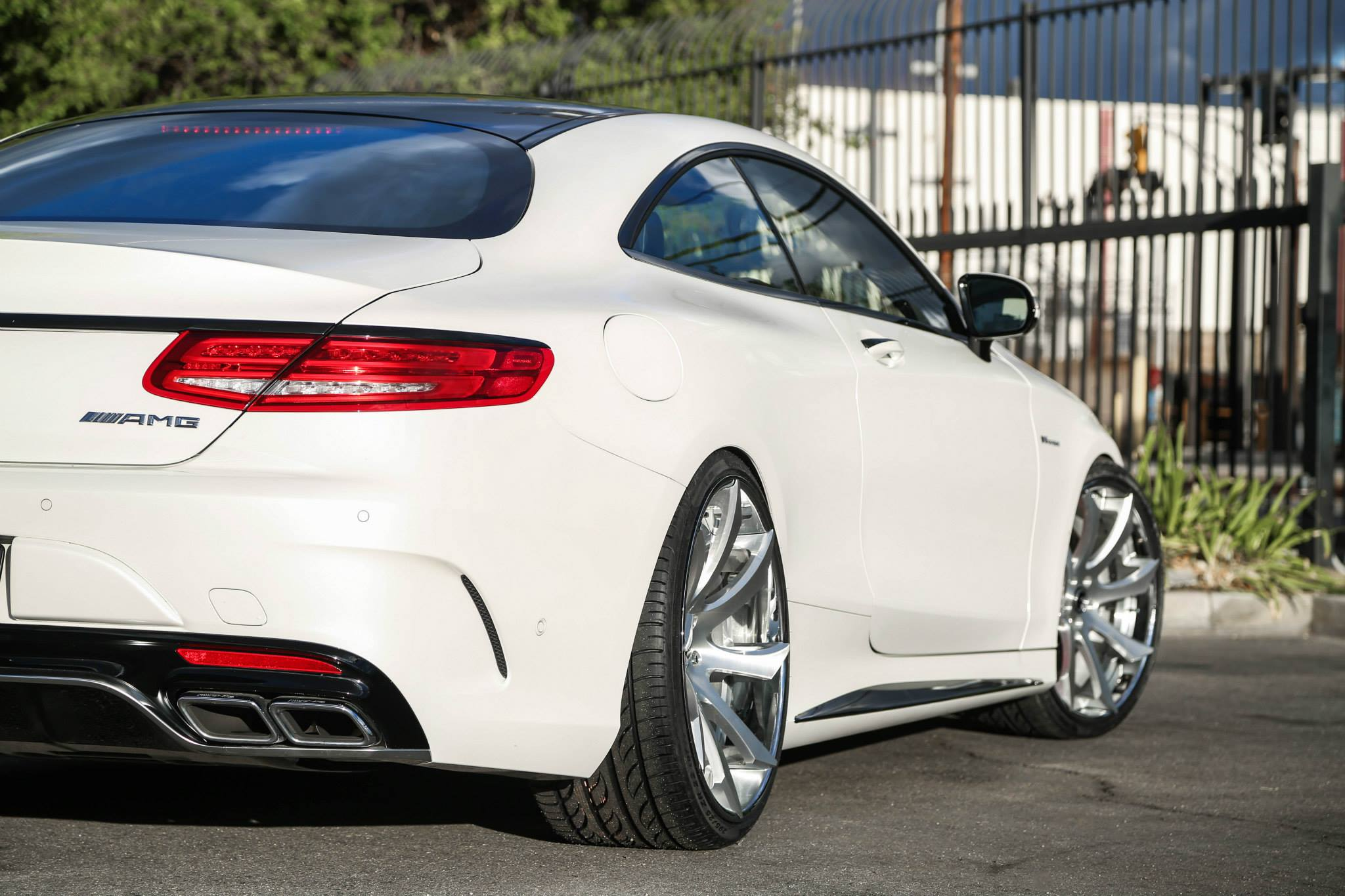 Mercedes s63 amg coupe on forgiato fondare wheels for Mercedes benz amg rims for sale