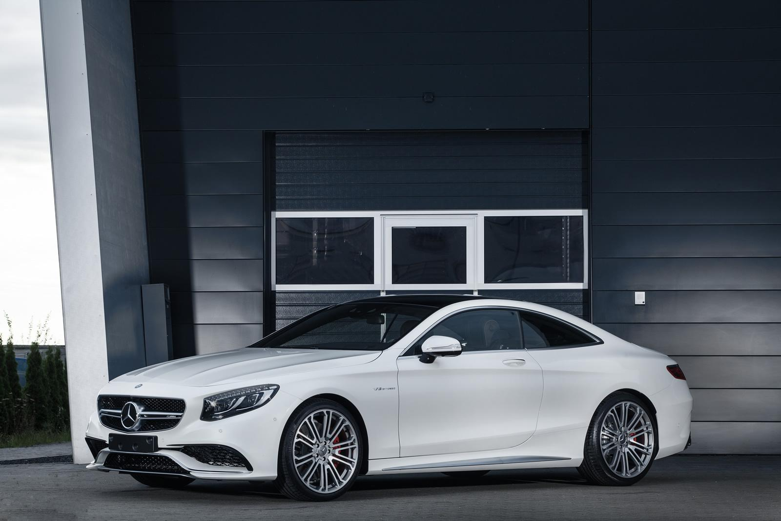 Mercedes s63 amg coupe pushed to 720 hp by imsa for Mercedes benz 563 amg