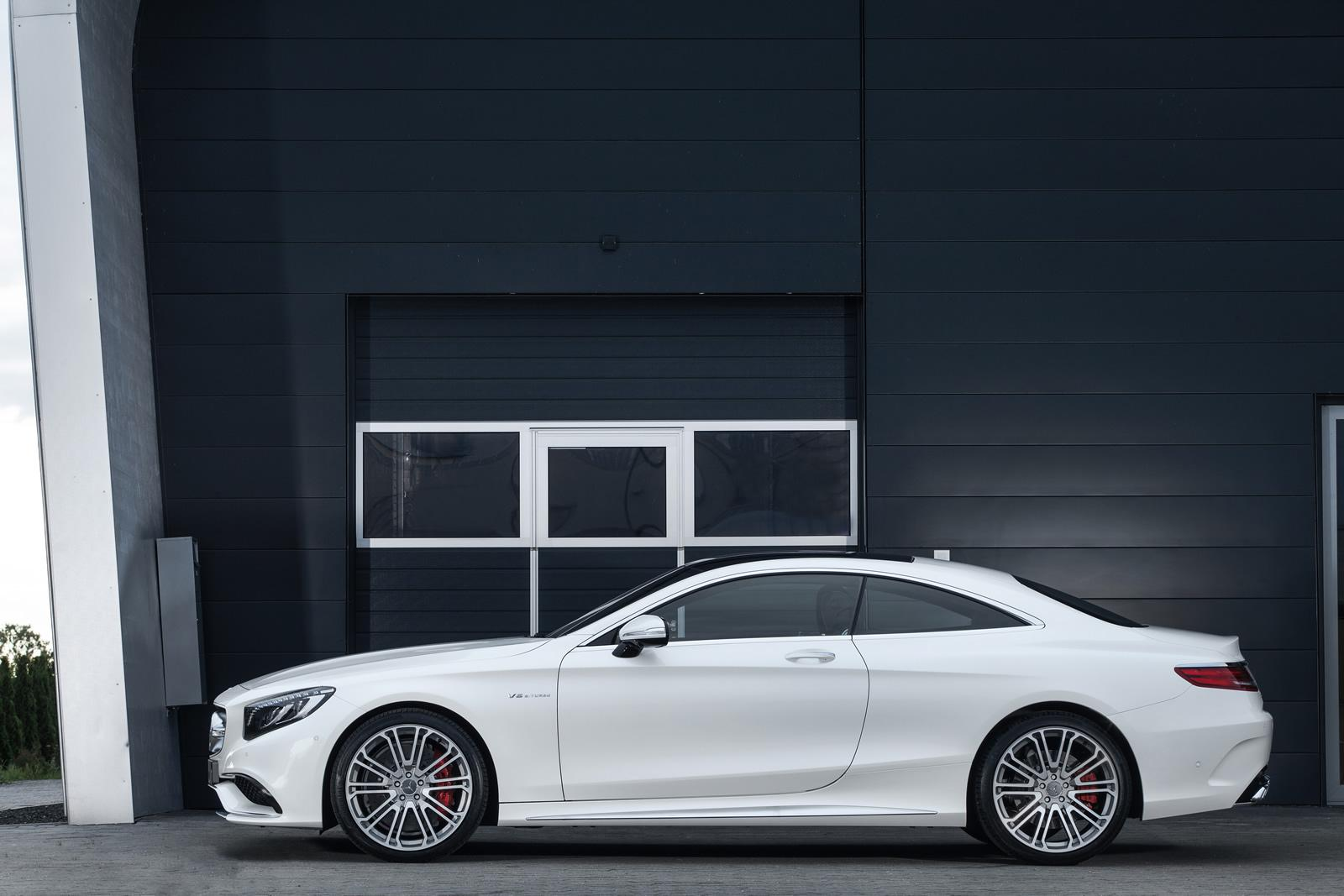 mercedes s63 amg coupe pushed to 720 hp by imsa autoevolution. Black Bedroom Furniture Sets. Home Design Ideas