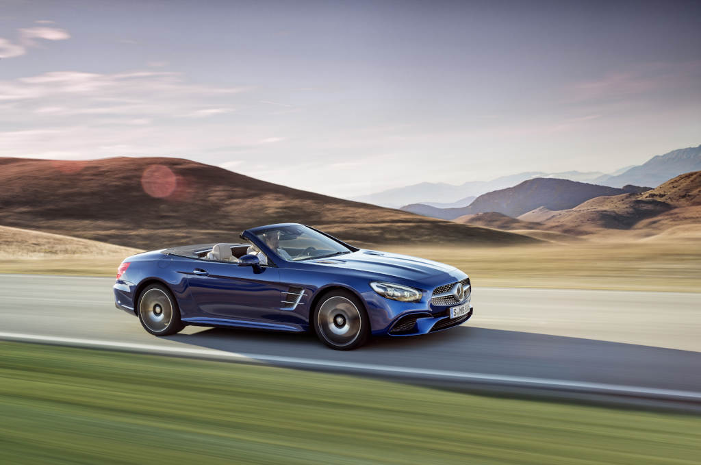 Mercedes sl is the panda bear of the automotive world a for Mercedes benz bear
