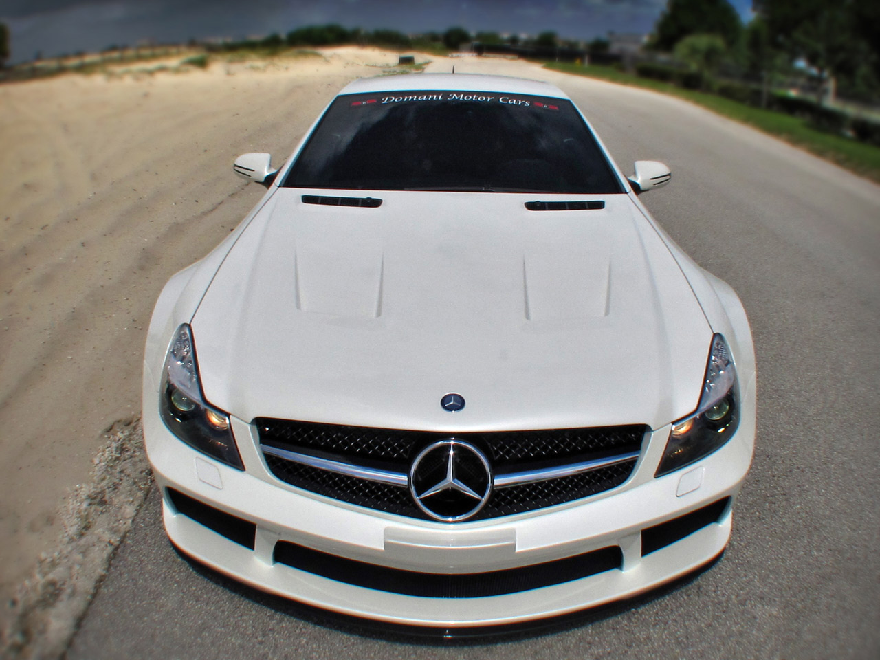 Mercedes Sl65 Amg Black Series By Renntech And Domani