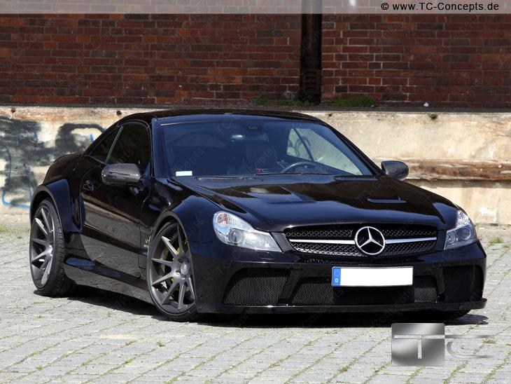 Mercedes Sl65 Amg Gets Black Series Treatment From Tc