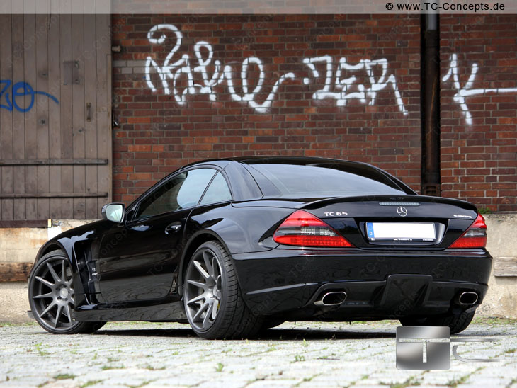 Mercedes Sl65 Amg Gets Black Series Treatment From Tc