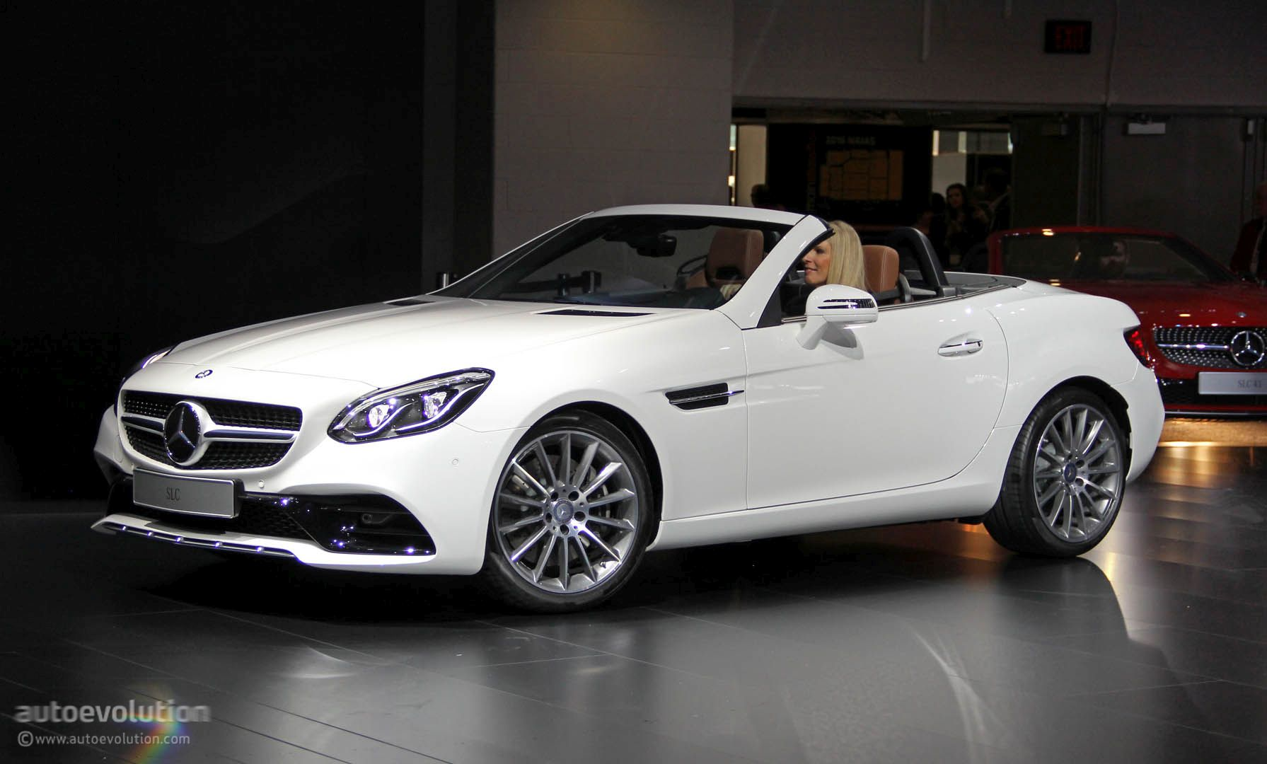 Mercedes Slc Loses V8 In Detroit Is A Merc In Benz S