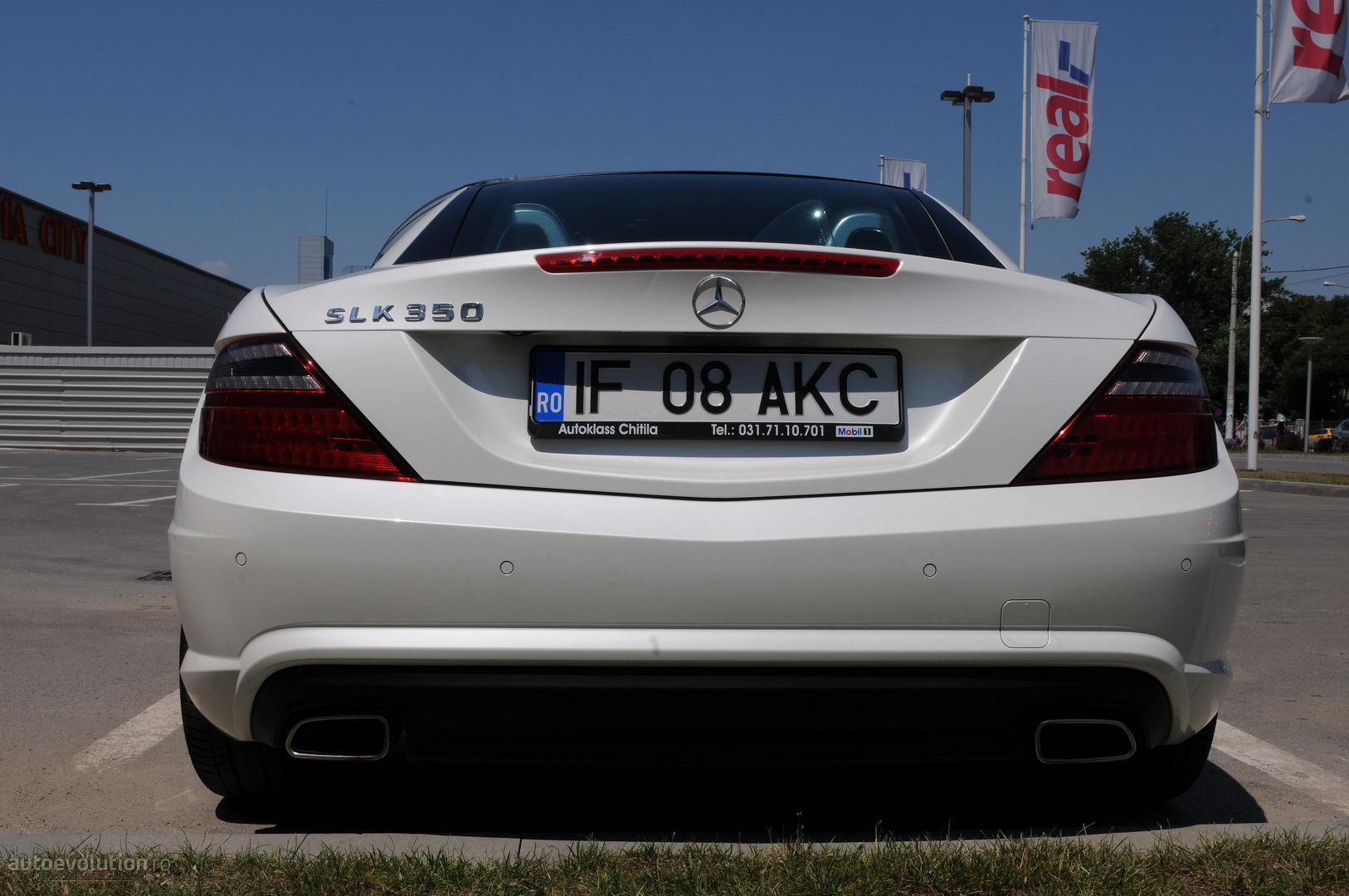 Mercedes SLK 350 Short Review - autoevolution