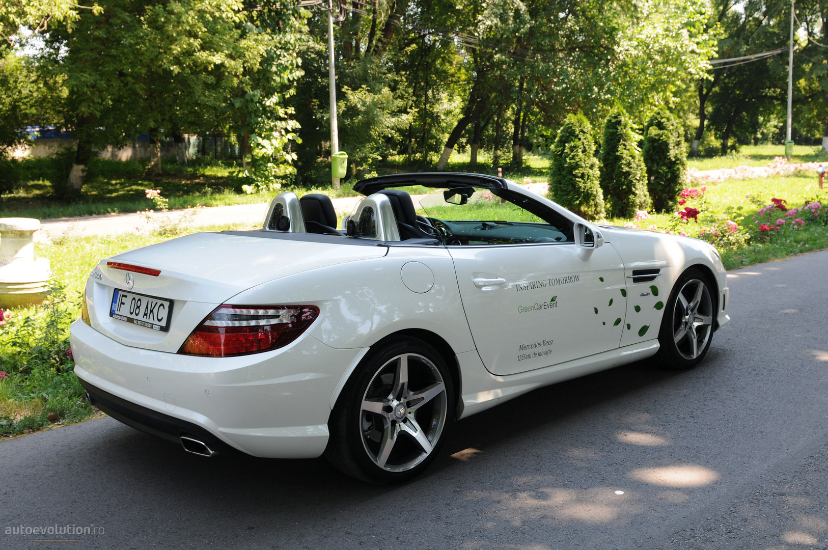 Mercedes Slk 350 Short Review Autoevolution
