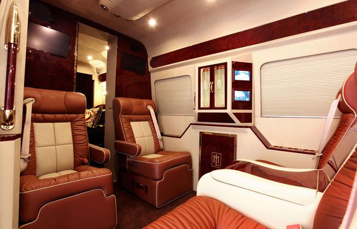 Mercedes Sprinter Van By Lexani Motorcars Costs Almost