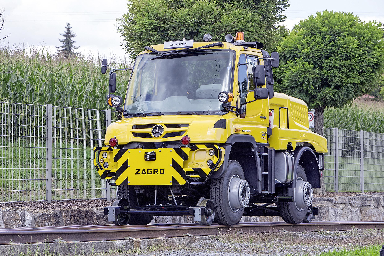 Mercedes Unimog Road Railer Goes From Truck To Diesel