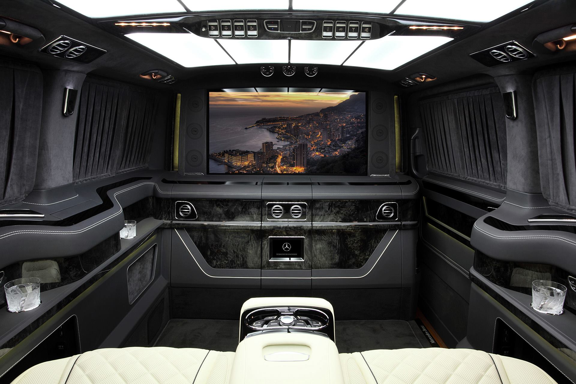 Mercedes V-Class Gets Carbon Hood in Topcar Inferno Tuning ...