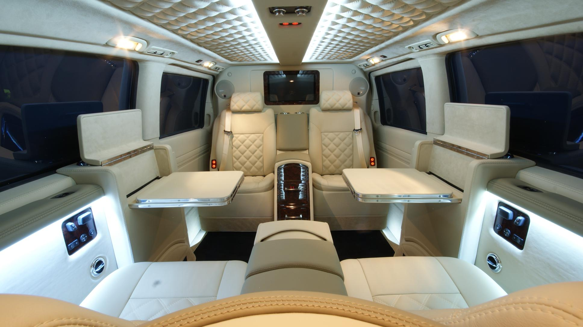 Mercedes viano by carisma auto design is the ultimate for Mercedes benz luxury van