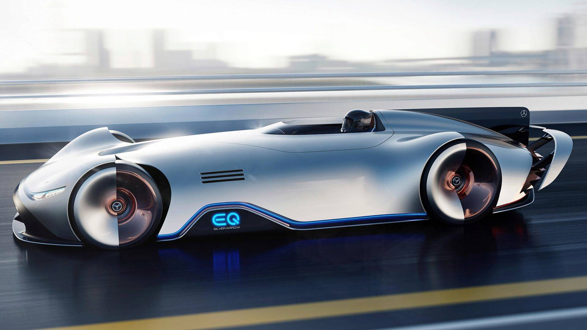 mercedes vision eq silver arrow comes standard with toto