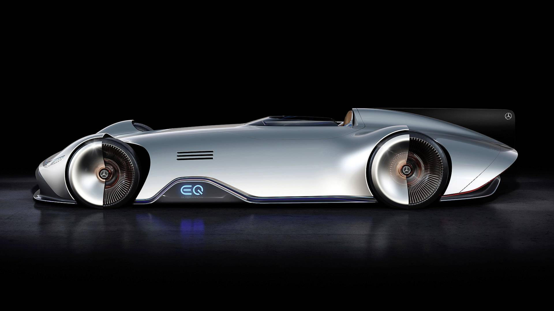 Mercedes Vision EQ Silver Arrow Comes Standard With Toto ...