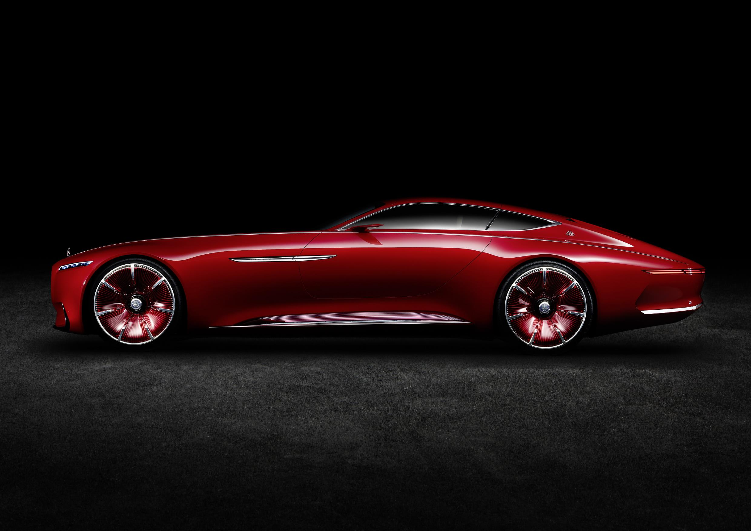 Mercedes Vision Maybach 6 Cabrio Rendered As A Blow In