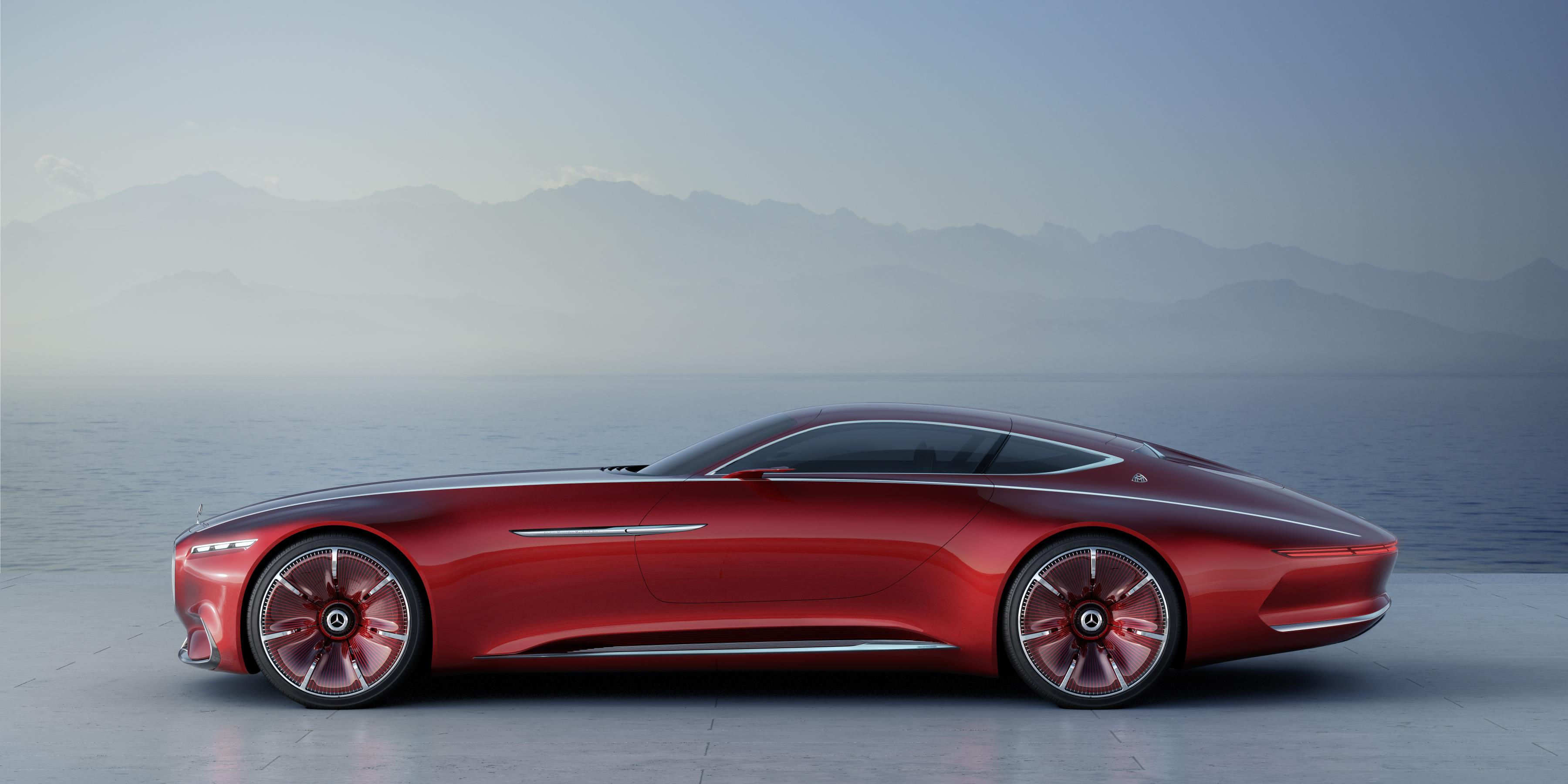 Mercedes Long Beach >> Mercedes Vision Maybach 6 Cabrio Rendered as a Blow in Rolls-Royce's EV Struggle - autoevolution