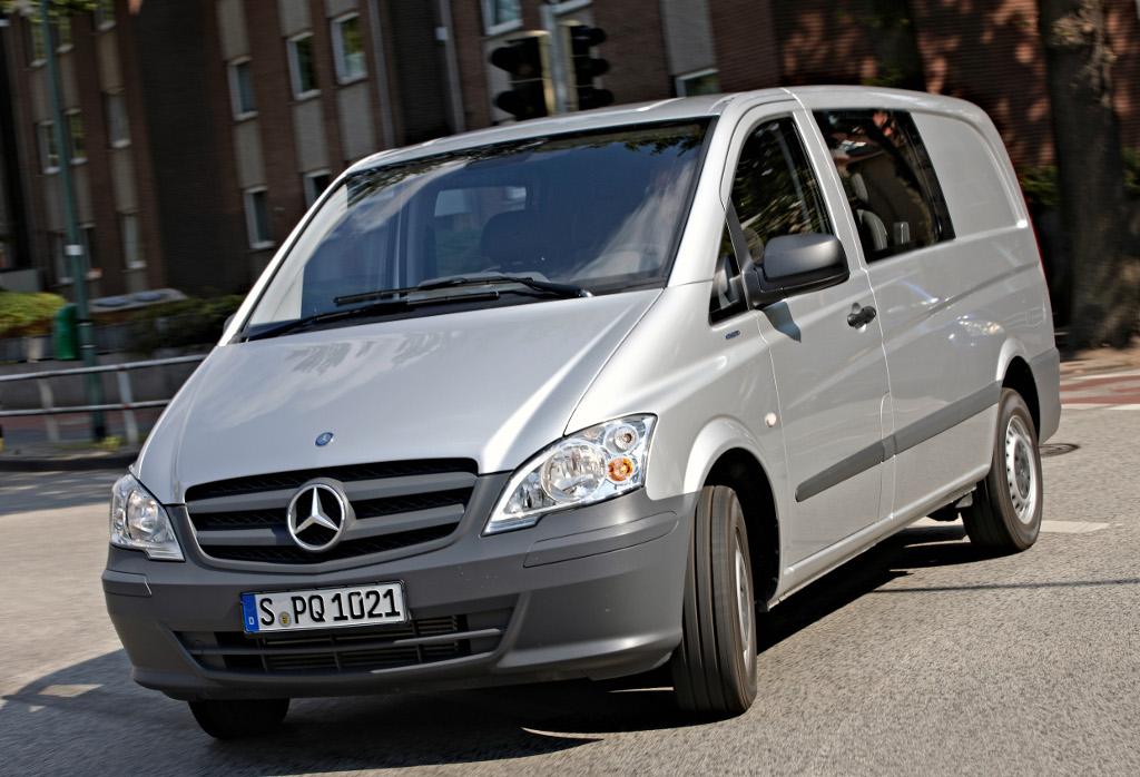 Mercedes Vito Details and Photos - autoevolution