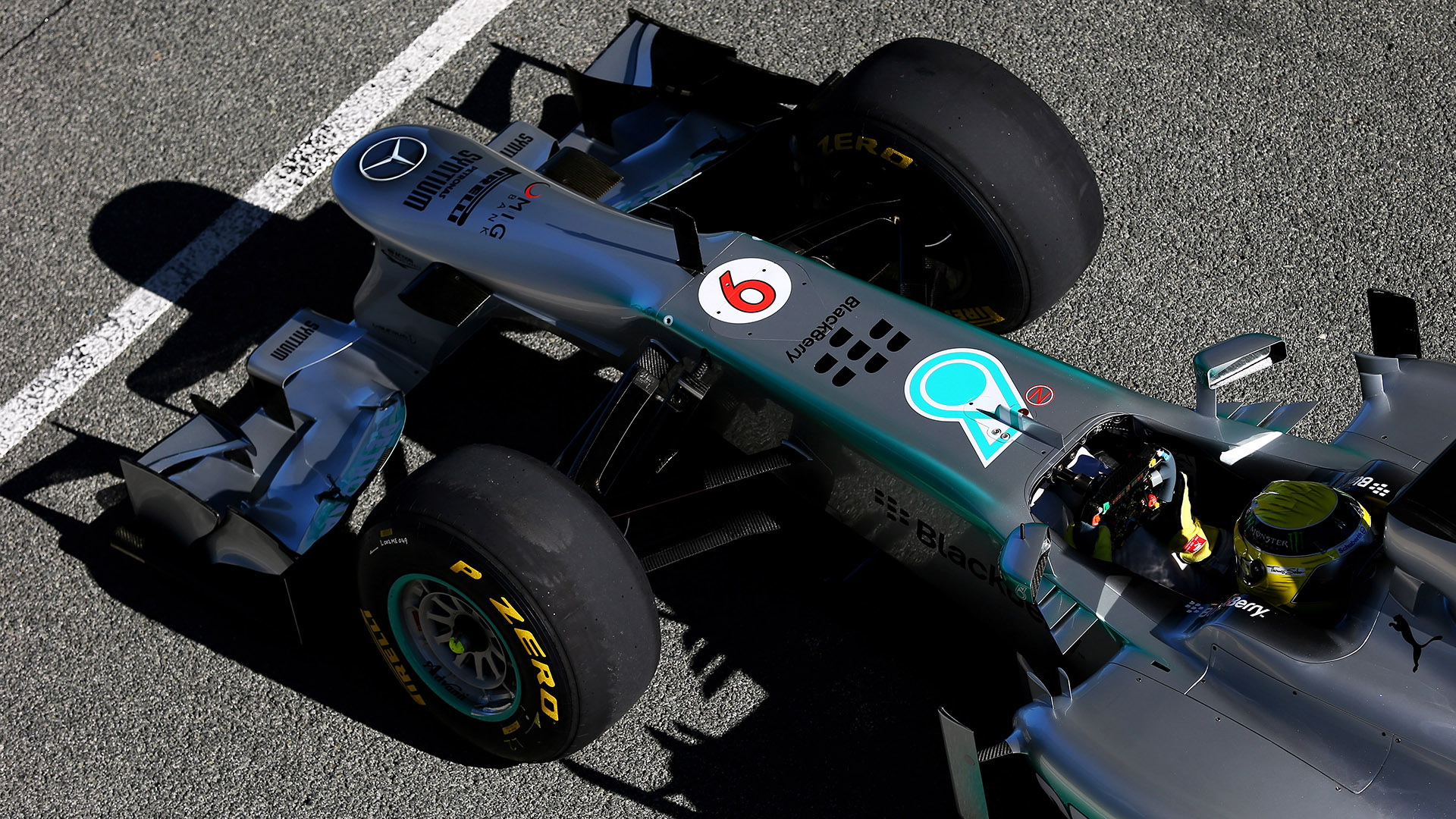 Mercedes W04 Formula 1 Car Showcased At Jerez Autoevolution