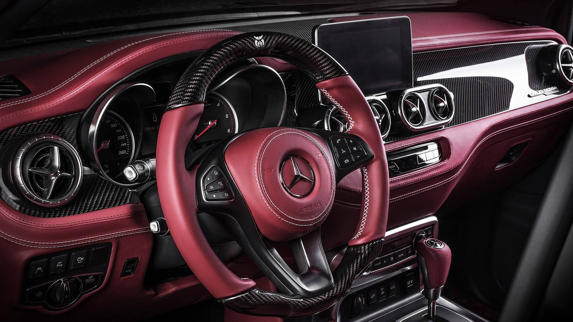 Cool Trucks 2018 >> Mercedes X-Class Gets Pickup Design Body Kit and Carlex Luxury Interior - autoevolution