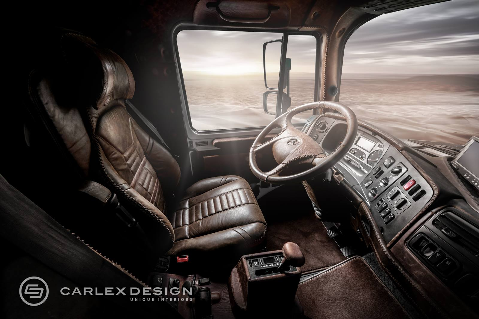 Mercedes Zetros Gets Desert Themed Luxury Interior from ...