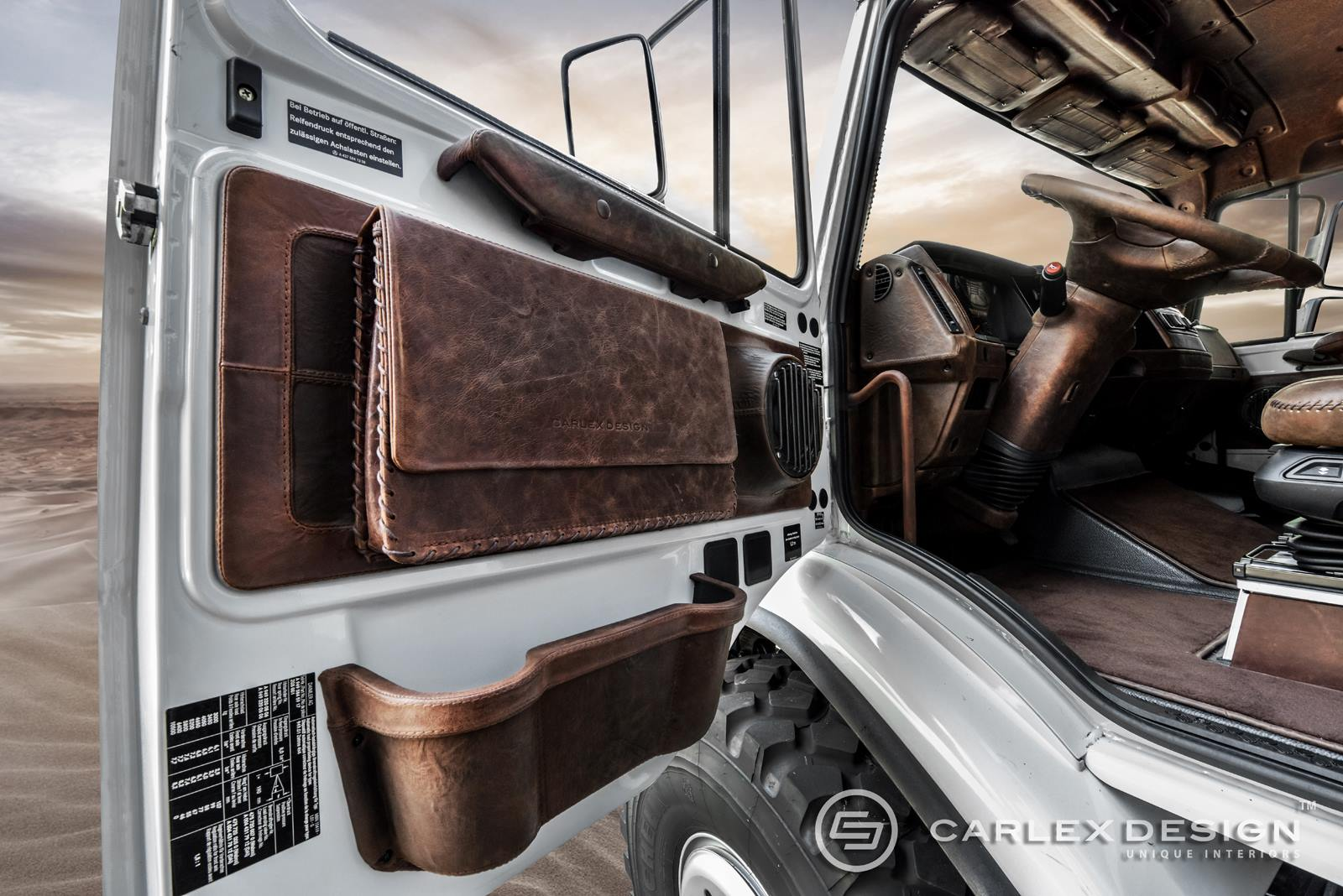 S Class Coupe >> Mercedes Zetros Gets Desert Themed Luxury Interior from Carlex - autoevolution