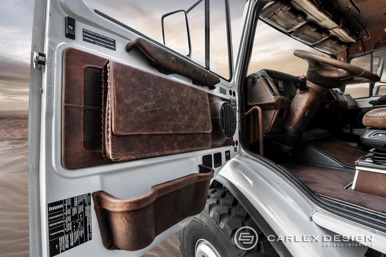 Mercedes Zetros Gets Desert Themed Luxury Interior from ...