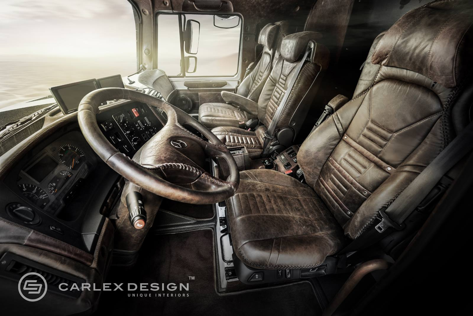 Mercedes Zetros Gets Desert Themed Luxury Interior From