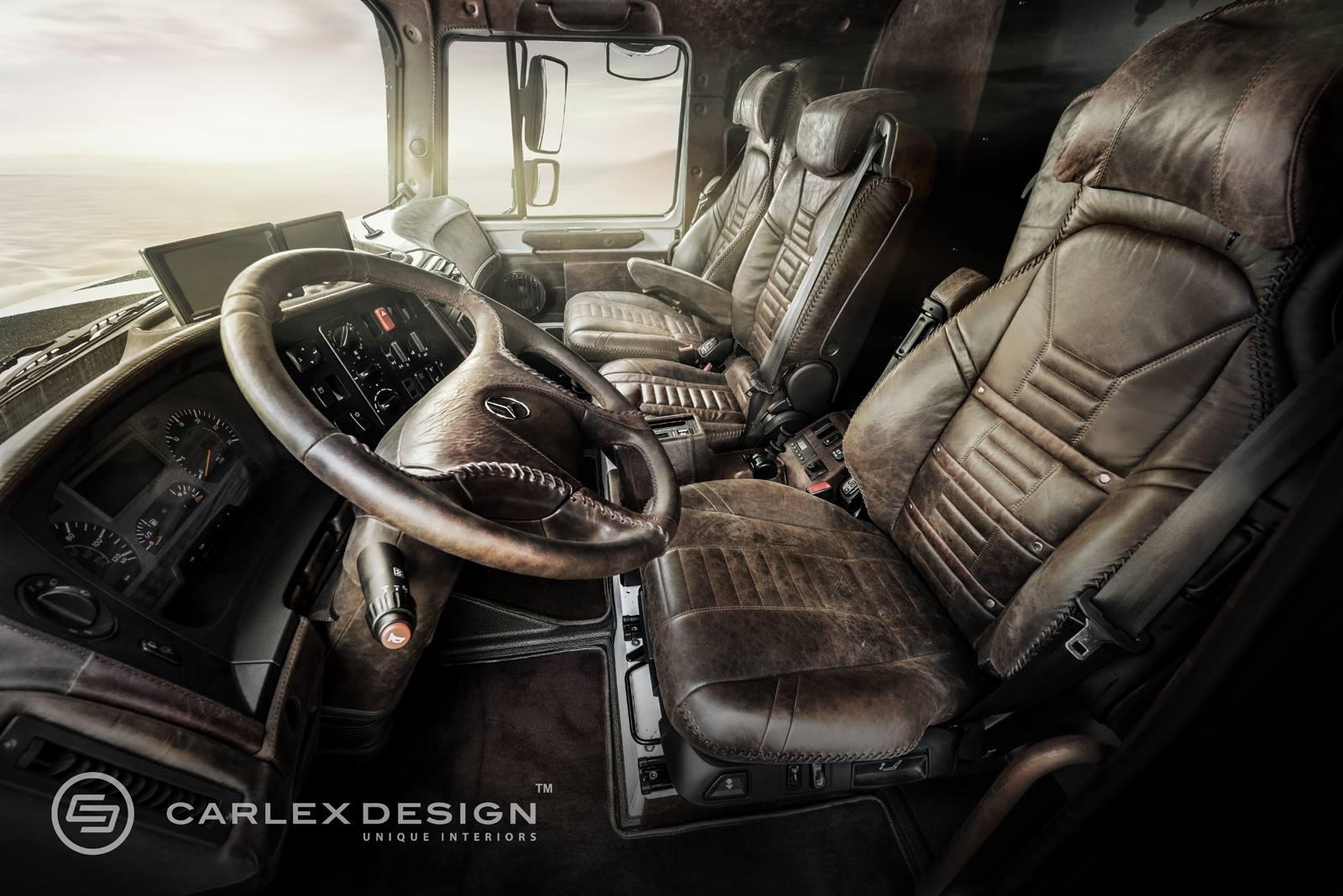 mercedes zetros gets desert themed luxury interior from carlex