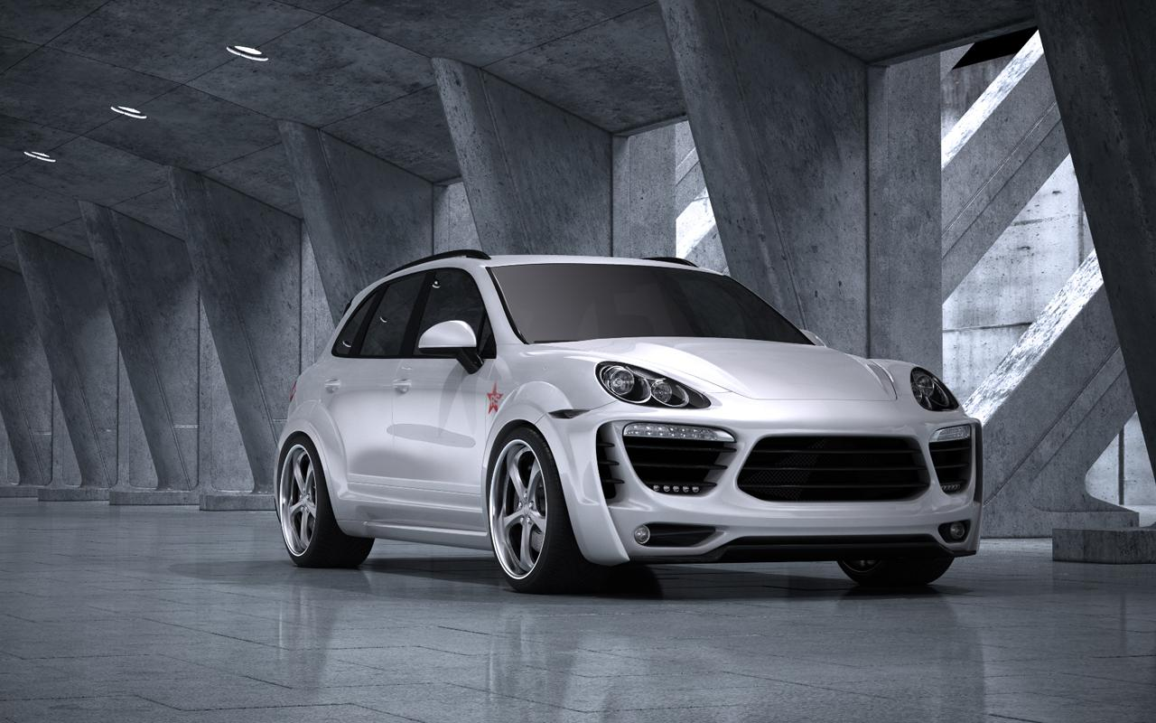Met r turns the porsche cayenne into a radical star for Garage porsche caen